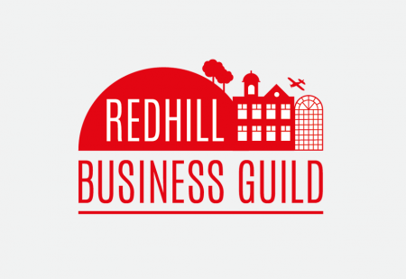 Redhill Business Guild Logo by Pick Me! Design © 2017 Sarah Godsell, Graphic Designer, Surrey